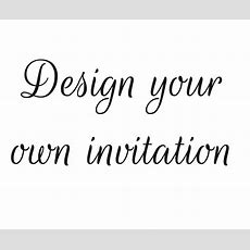 Design Your Own Birthday Invitation  Red Rose Invitations