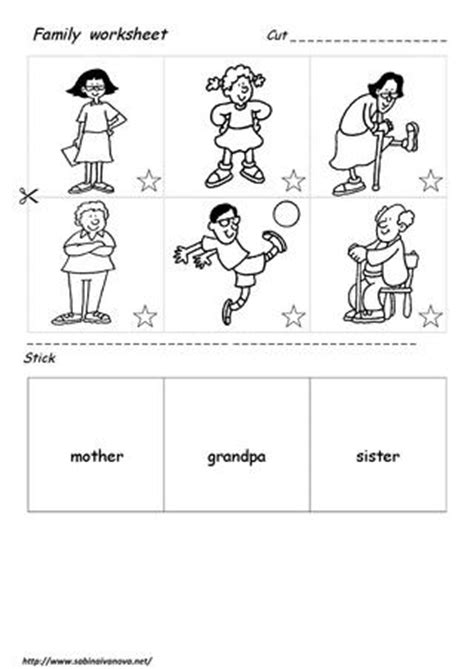 family worksheet  grade  dilqna issuu