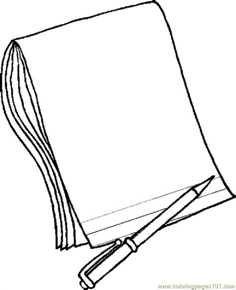 coloring paper pencil paper 2 coloring page free school coloring