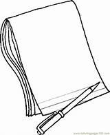Paper Pencil Coloring Pages Coloringpages101 sketch template