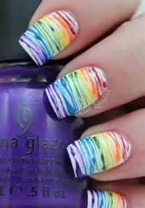 Rainbow Nail Art Tutorial