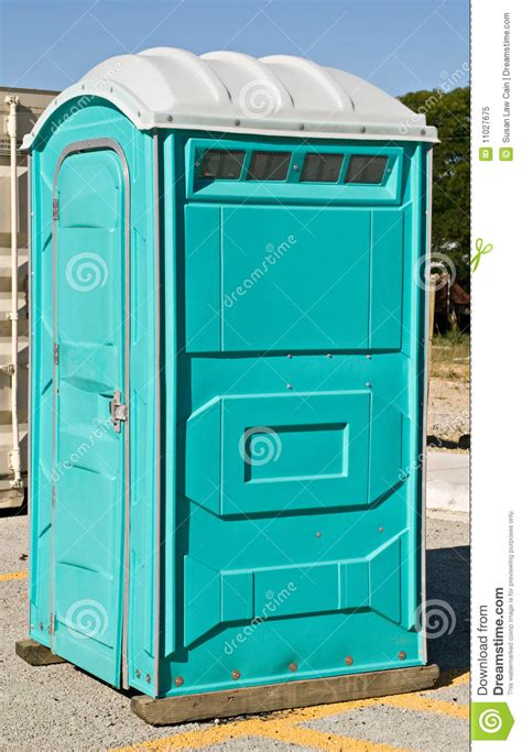 toilette portative photo libre de droits image 11027675
