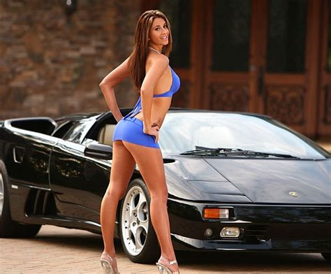 hot models with cars exotic car model pasta power pinterest cars
