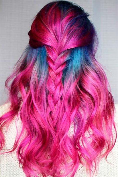 21 Loveliest Magenta Hair Color Ideas Hair Hair Styles