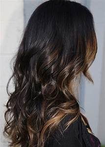 Dark brown hair with caramel highlights/ombré | Hair ...
