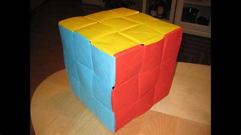 origami  ultimate rubiks cube youtube