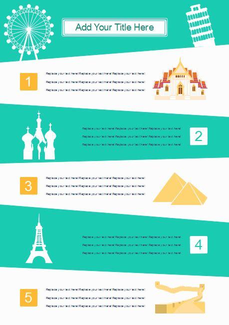 tourist sites infographics  tourist sites