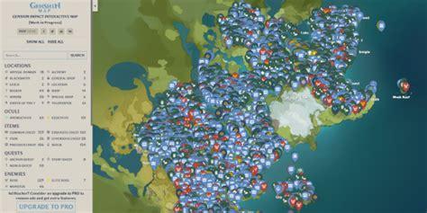Find anemoculli, geoculi, chests or other resources from the game. Genshin Impact Karte von Teyvat - Genshin Impact Forum ...
