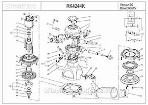 Rockwell Rk4244k Parts List And Diagram