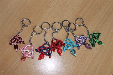 porte clefs fa 231 on entrelac