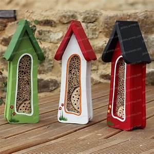 Abri à Insectes : tour abri insectes couleur maisons abris animaux ~ Premium-room.com Idées de Décoration