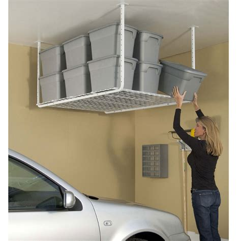hyloft ceiling storage unit hyloft 60 quot x 45 quot ceiling storage unit 50175 10