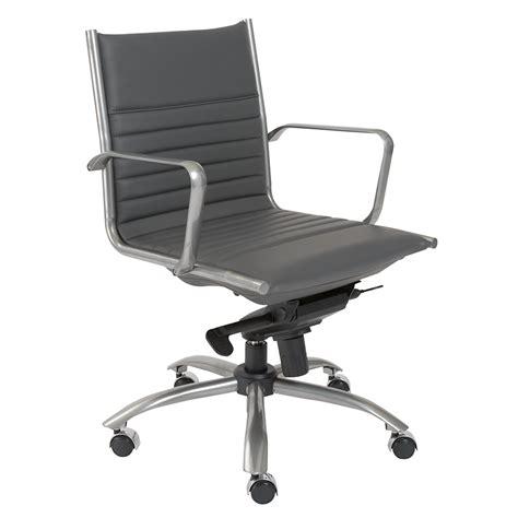 dirk gray modern office chair eurway furniture