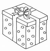 Coloring Christmas Pages Box Presents Sheets Colouring Gifts Printable Anycoloring sketch template