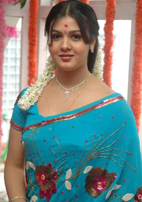 tamil actress jyothi images tamil actress jyothi krishn latest blue saree images