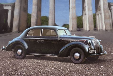 Opel German Car by German Opel Admiral Saloon Wwii German Staff Car Icm 35472