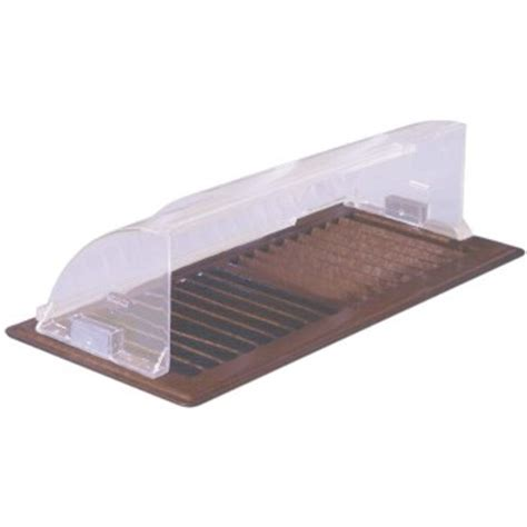 ceiling heat vent deflector buy the deflect o 99 heat deflector hardware world