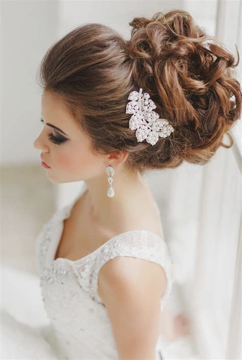 Wedding Hairstyles by The Most Beautiful Wedding Hairstyles To Inspire You