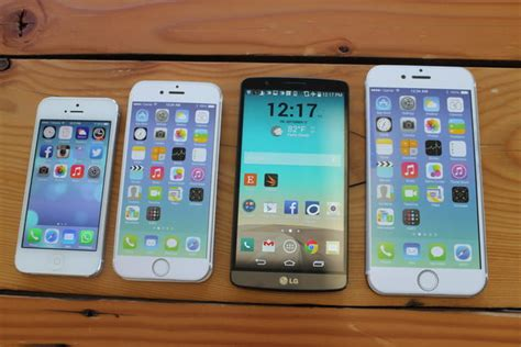 iphone 6 size comparison iphone 6 plus size comparison here s how big it is 15083