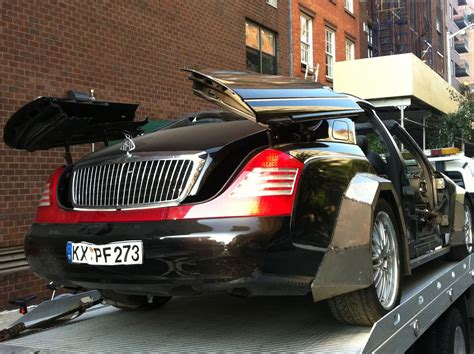 Maybach Car : Jay-z's New Maybach?