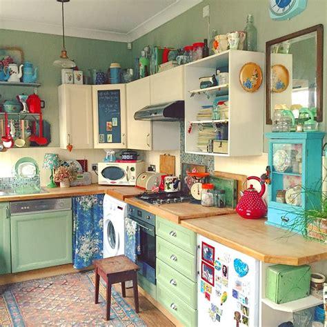 pin  gail alner  decorating   retro home decor home decor boho kitchen