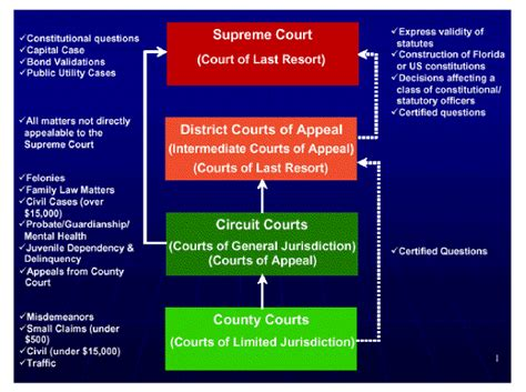 Florida Courts Jurisdiction Flowchart Aplus Ebooks