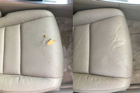 Repair In Leather by Vinyl And Leather Repair Car Care Kalamazoo