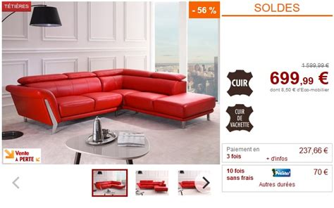 soldes canap駸 d angle canape d angle cuir maison design wiblia com