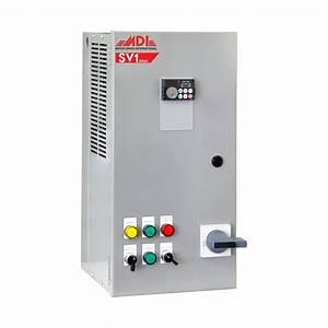 5hp 208v Mdi Industrial Control Panel  Motor Control Panel  Vfd Box  Msv12005ha1130