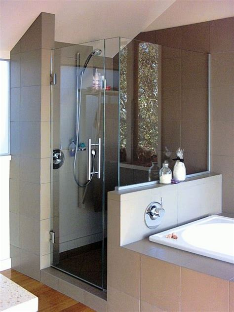 bathroom and shower ideas shower bath to each other another idea