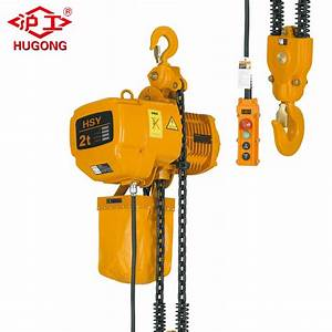 China Motor Lifting Electric Hoist Crane 2 Tons