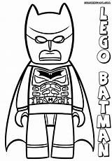 Lego Batman Coloring Pages Print Colorings Figure sketch template
