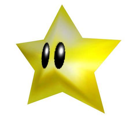 Nintendo 64 Super Mario 64 Power Star The Models