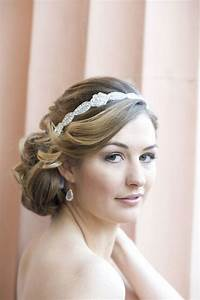 Beautiful Bridal Hairstyles With Head Bands HairzStyle