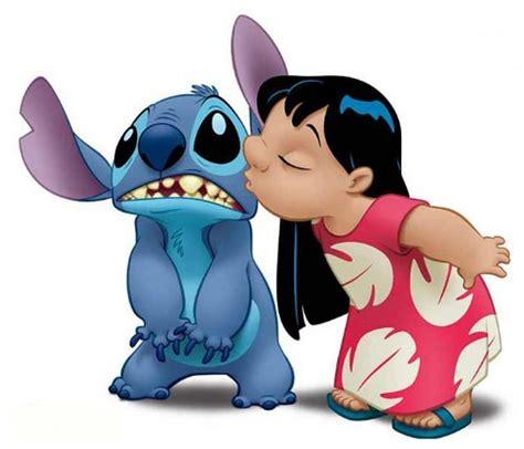 lilo kissing stitch   compare   stitch