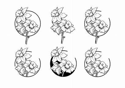 Tattoo Flower Narcissus Flowers December Daffodil Tattoos