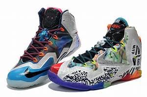 "2014 Nike LeBron 11 ""What The LeBron"" Black Lava/Silver ..."