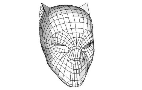 black panther mask template marvel comics size black panther s helmet for free papercraft by