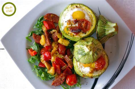 recette courgettes rondes farcies  loeuf blog cuisine