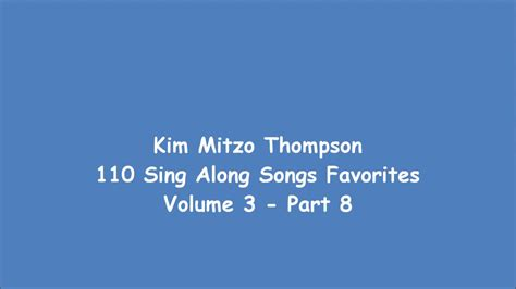 110 Sing Along Songs Favorites Volume