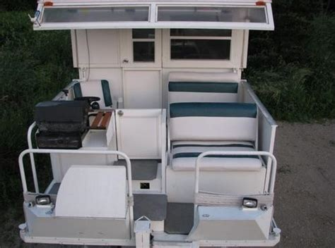 Boat Cockpit Grill by Trailerable Houseboat For Sale