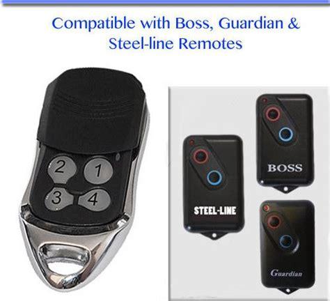how to program garage remote guardian garage door remote controls on now