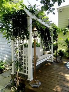 Pflanzen Für Pergola : gartenschaukel ver ndert den gartenlook auf eine tolle art und weise gartenschaukel pergola ~ Sanjose-hotels-ca.com Haus und Dekorationen