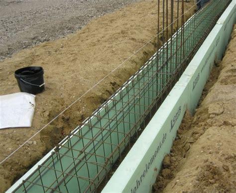 Bodenplatte Ohne Fundament by Mit Dem Streifenfundament Frostfrei Gr 252 Nden Tipps Bauen De