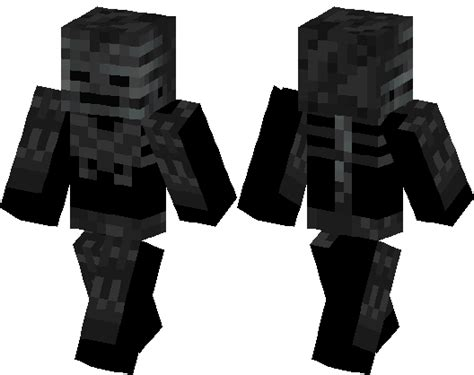 horror themed home wither skeleton minecraft skin minecraft hub