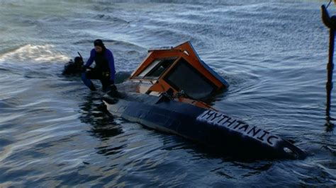 Sinking Boat by Will A Sinking Ship You With It Mythbusters