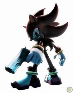 shadow with a gun - Shadow The Hedgehog Fan Art (8731802 ...