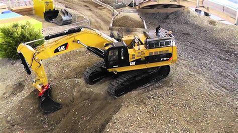 rc cat  excavator big rc model big rc diggerremode