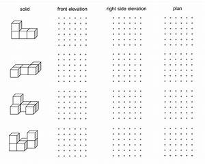 11  Pdf  Isometric Drawing Worksheet Ks3 Printable