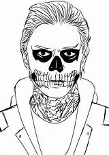 Horror American Story Coloring Drawing Deviantart Colouring Pages Drawings Langdon Draw Sheets Anime Coven Tate Ahs Adult Cool Books Desenhos sketch template